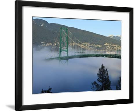Stanley Park, Vancouver, British Columbia, Canada-Rick A^ Brown-Framed Art Print