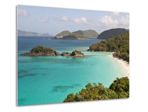 Underwater Snorkeling Trail, St John, United States Virgin Islands, USA, US Virgin Islands-Trish Drury-Metal Print
