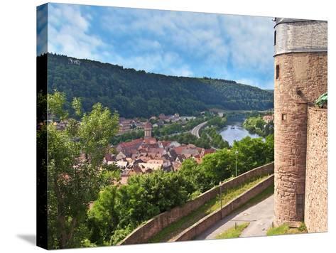 Wertheim Castle, Wertheim, Germany-Miva Stock-Stretched Canvas Print