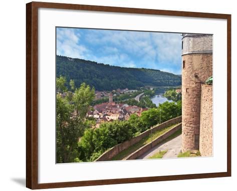 Wertheim Castle, Wertheim, Germany-Miva Stock-Framed Art Print