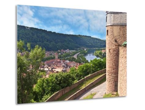 Wertheim Castle, Wertheim, Germany-Miva Stock-Metal Print