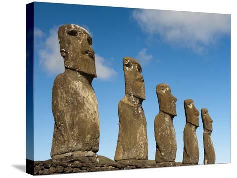 Ahu Akivi, Rapa Nui, Easter Island, Chile-Sergio Pitamitz-Stretched Canvas Print