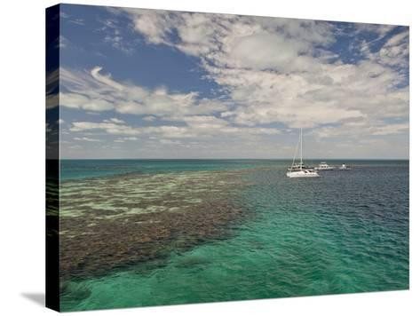 Blue Hole, World Heritage Site, Belize-Michele Westmorland-Stretched Canvas Print