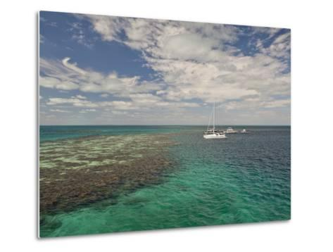 Blue Hole, World Heritage Site, Belize-Michele Westmorland-Metal Print