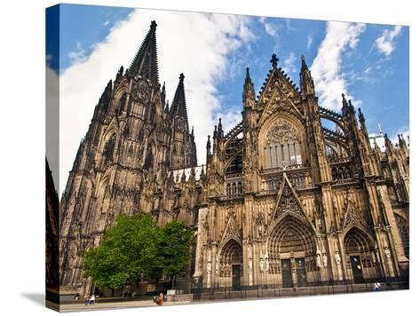 Cologne Cathedral, Cologne, Germany-Miva Stock-Stretched Canvas Print