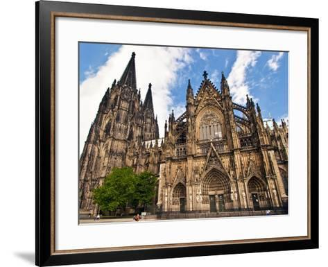 Cologne Cathedral, Cologne, Germany-Miva Stock-Framed Art Print