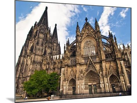 Cologne Cathedral, Cologne, Germany-Miva Stock-Mounted Photographic Print