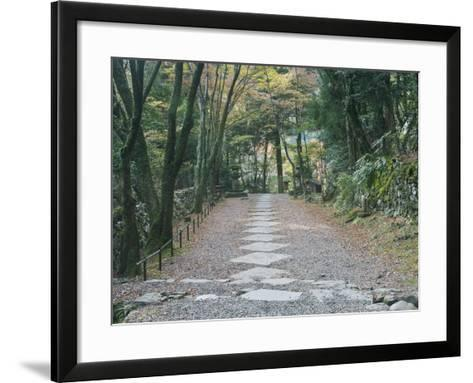 Kozanji Temple, Kyoto, Japan-Rob Tilley-Framed Art Print