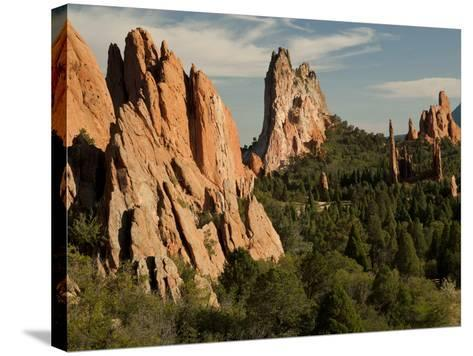 Garden of the Gods Historic Site, Colorado, USA-Patrick J^ Wall-Stretched Canvas Print