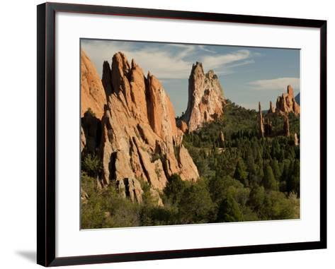 Garden of the Gods Historic Site, Colorado, USA-Patrick J^ Wall-Framed Art Print