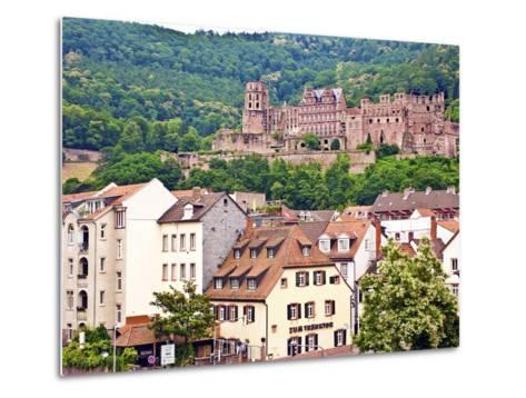 Heidelberg Castle, Heidelberg, Germany-Miva Stock-Metal Print