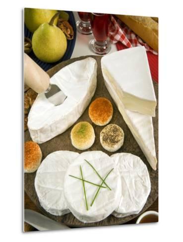 French Cheeses, France-Nico Tondini-Metal Print