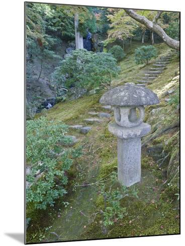Garden Lantern, Shugakuin Imperial Villa, Kyoto, Japan-Rob Tilley-Mounted Photographic Print