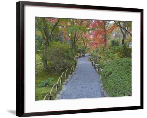 Tenryuji Temple Garden, Sagano, Arashiyama, Kyoto, Japan-Rob Tilley-Framed Art Print