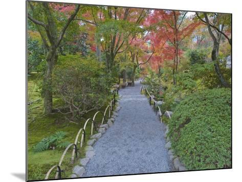 Tenryuji Temple Garden, Sagano, Arashiyama, Kyoto, Japan-Rob Tilley-Mounted Photographic Print