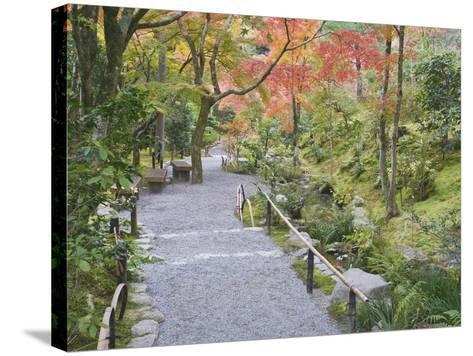 Tenryuji Temple Garden, Sagano, Arashiyama, Kyoto, Japan-Rob Tilley-Stretched Canvas Print