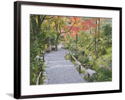 Tenryuji Temple Garden, Sagano, Arashiyama, Kyoto, Japan-Rob Tilley-Framed Art Print