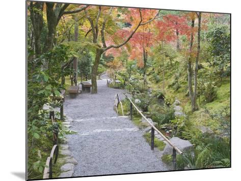 Tenryuji Temple Garden, Sagano, Arashiyama, Kyoto, Japan-Rob Tilley-Mounted Photographic Print