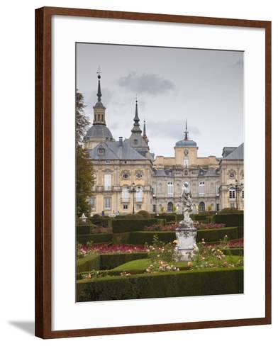 Royal Palace of King Philip V, San Ildefonso, Spain-Walter Bibikow-Framed Art Print