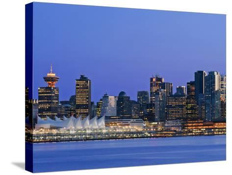 Vancouver Skyline, Vancouver, British Columbia, Canada-Rob Tilley-Stretched Canvas Print