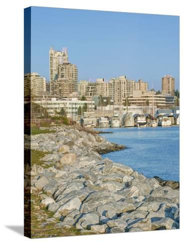 Waterfront, Vancouver, British Columbia, Canada-Rob Tilley-Stretched Canvas Print