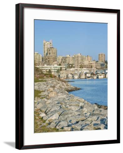 Waterfront, Vancouver, British Columbia, Canada-Rob Tilley-Framed Art Print