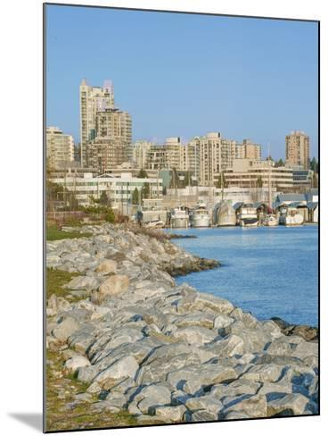 Waterfront, Vancouver, British Columbia, Canada-Rob Tilley-Mounted Photographic Print