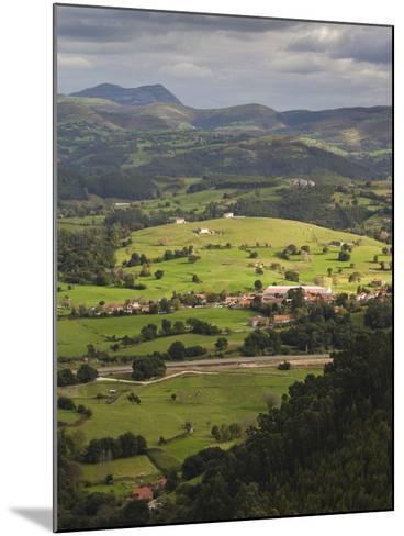 Pena Cabarga Mountain View, Santander, Spain-Walter Bibikow-Mounted Photographic Print