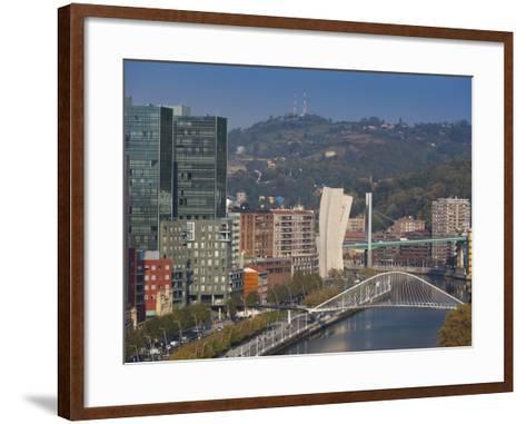 View of Parque Etxebarria Park, Bilbao, Spain-Walter Bibikow-Framed Art Print