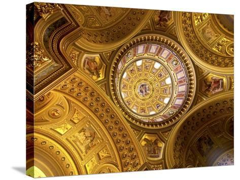 St. Stephens Basilica, Budapest, Hungary-Miva Stock-Stretched Canvas Print