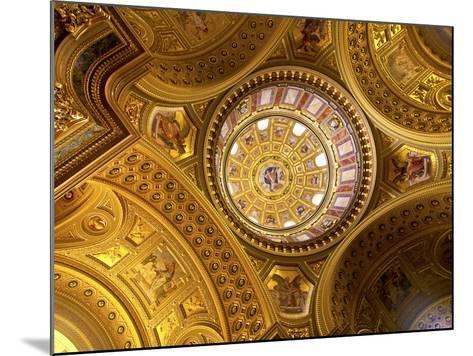 St. Stephens Basilica, Budapest, Hungary-Miva Stock-Mounted Photographic Print