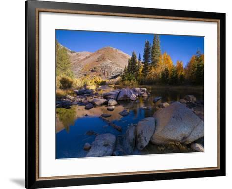 Sunrise at North Lake, Eastern Sierra Foothills, California, USA-Tom Norring-Framed Art Print