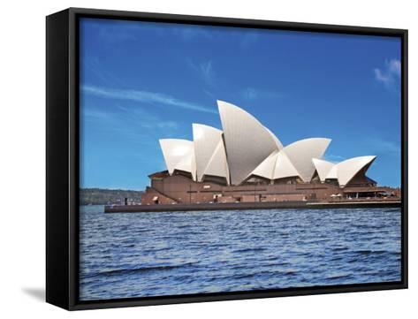 Sydney Opera House, Sydney, New South Wales, Australia-Miva Stock-Framed Canvas Print