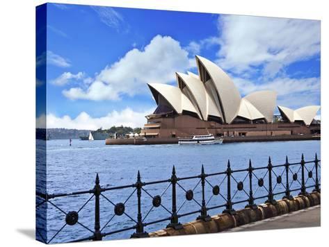 Sydney Opera House, Sydney, New South Wales, Australia-Miva Stock-Stretched Canvas Print