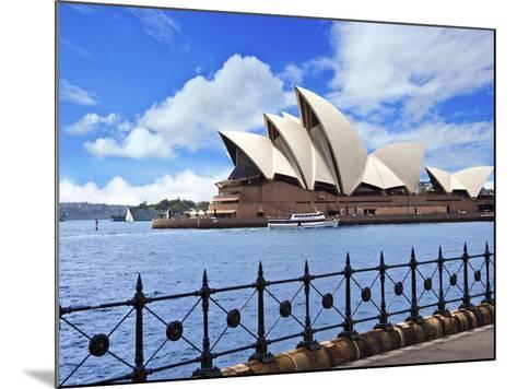 Sydney Opera House, Sydney, New South Wales, Australia-Miva Stock-Mounted Photographic Print