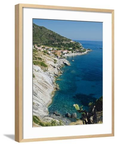 Pomonte, Isola D'Elba, Elba, Tuscany, Italy-Nico Tondini-Framed Art Print
