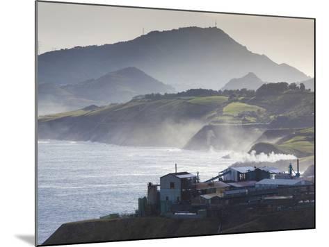 Rio De Bilbao Estuary, Miono, Spain-Walter Bibikow-Mounted Photographic Print