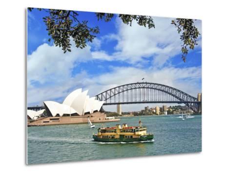 Sydney Opera House, Sydney, New South Wales, Australia-Miva Stock-Metal Print