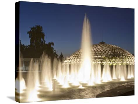Bloedel Conservatory, Queen Elizabeth Park, Vancouver, British Columbia, Canada-William Sutton-Stretched Canvas Print
