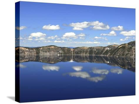 Crater Lake Reflections, Crater Lake National Park, Oregon, USA-Michel Hersen-Stretched Canvas Print