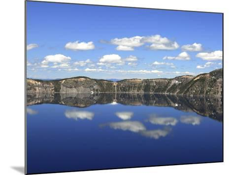 Crater Lake Reflections, Crater Lake National Park, Oregon, USA-Michel Hersen-Mounted Photographic Print