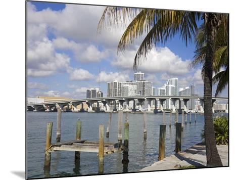Miami Skyline, Florida, United States of America, North America-Richard Cummins-Mounted Photographic Print