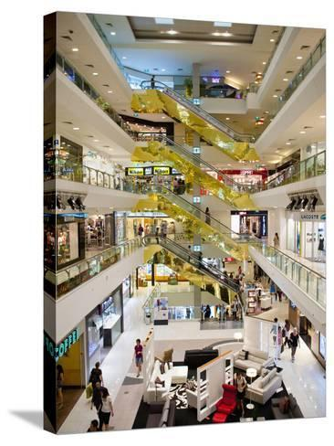 Shopping Centre, Orchard Road, Singapore, Southeast Asia, Asia-Matthew Williams-Ellis-Stretched Canvas Print