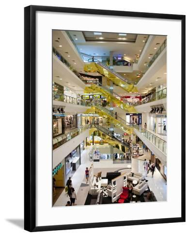 Shopping Centre, Orchard Road, Singapore, Southeast Asia, Asia-Matthew Williams-Ellis-Framed Art Print