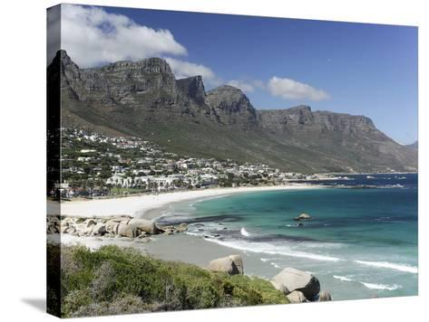 The Twelve Apostles, Camps Bay, Cape Town, Cape Province, South Africa, Africa-Peter Groenendijk-Stretched Canvas Print