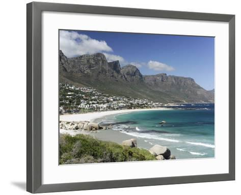 The Twelve Apostles, Camps Bay, Cape Town, Cape Province, South Africa, Africa-Peter Groenendijk-Framed Art Print
