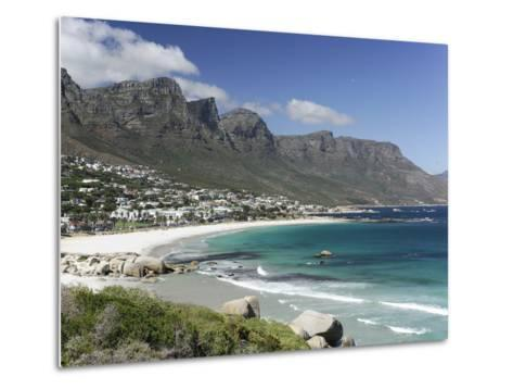 The Twelve Apostles, Camps Bay, Cape Town, Cape Province, South Africa, Africa-Peter Groenendijk-Metal Print