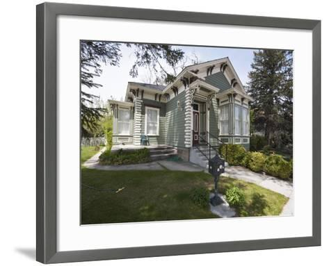 Historic Lew Meder House Dating from around 1874, Carson City, Nevada, USA, North America-Michael DeFreitas-Framed Art Print