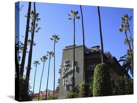 Beverly Hills Hotel, Beverly Hills, Los Angeles, California, Usa-Wendy Connett-Stretched Canvas Print