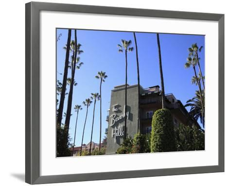 Beverly Hills Hotel, Beverly Hills, Los Angeles, California, Usa-Wendy Connett-Framed Art Print